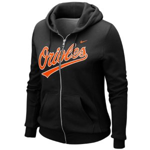 Baltimore Orioles Nike Womens Classic Full Zip Hoodie