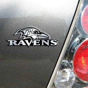 Baltimore Ravens Auto Emblem
