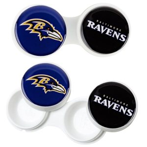 Baltimore Ravens Contact Lens Case 2Pack