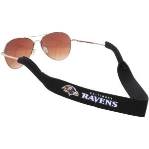 Baltimore Ravens Neoprene Sunglasses Strap