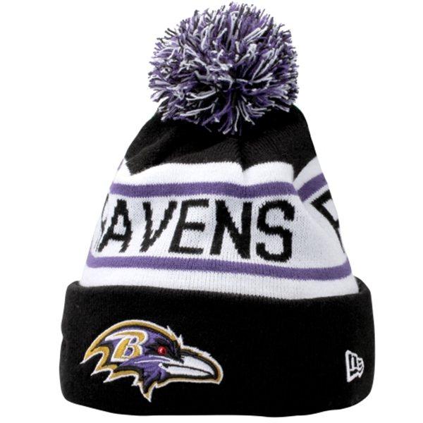 Baltimore Ravens New Era Biggest Fan Redux Knit Beanie – B More Fan Shop 03030e93143f