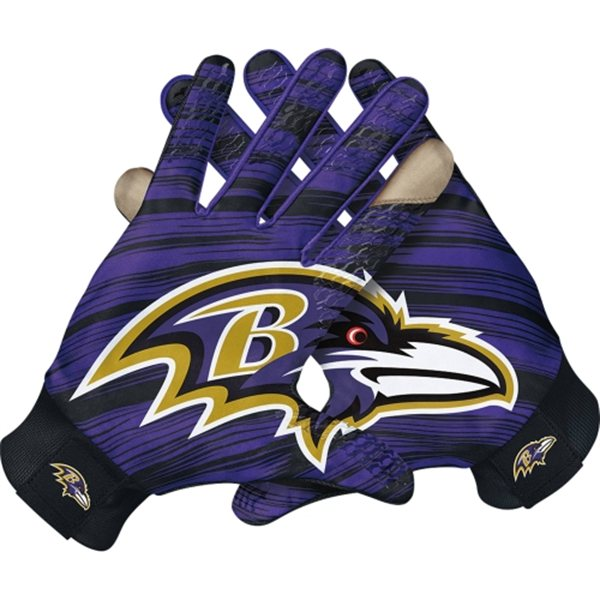 newest 790fd 8bc9c Baltimore Ravens Nike Stadium Fan Gloves
