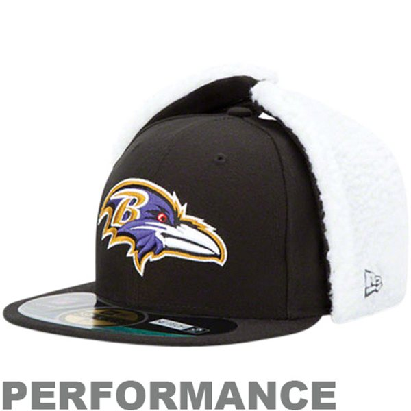 buy popular 25201 dc98c Baltimore Ravens OnField Dog Ear 59FIFTY NE Tech Fitted Hat – B More Fan  Shop
