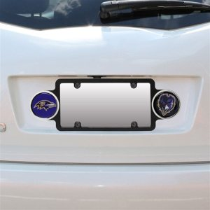 Baltimore Ravens Plastic Badge License Plate Frame
