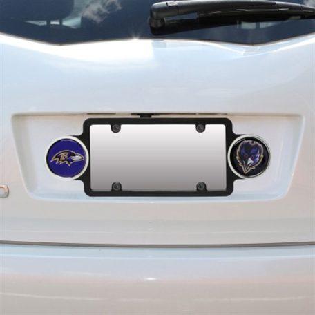 Baltimore Ravens Plastic Badge License Plate Frame