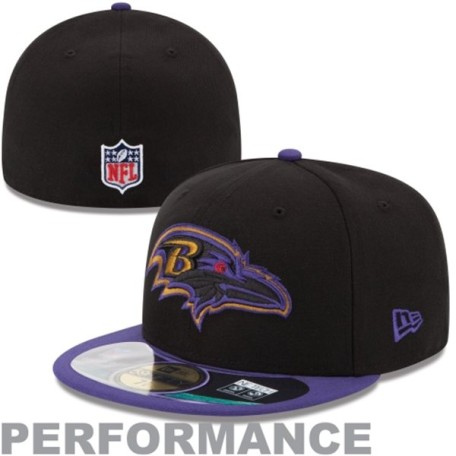 Baltimore Ravens Thanksgiving Day 59FIFTY Fitted Performance Hat
