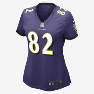 NFL BALTIMORE RAVENS WOMANS GAME JERSEY TORREY SMITH