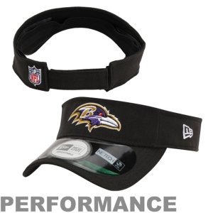 New Era Baltimore Ravens On Field Adjustable Visor