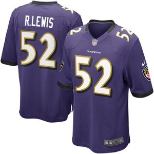 Ray Lewis Nike Team Color Game Jersey