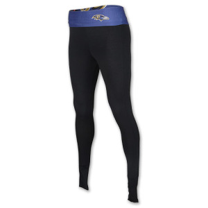 Womens College Concepts Baltimore Ravens NFL Team Leggings