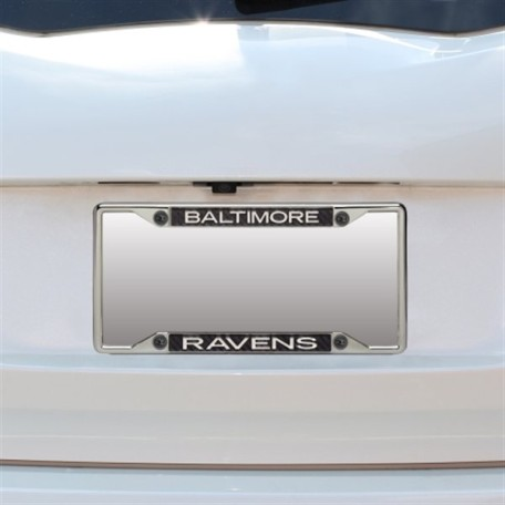 Baltimore Ravens Small Carbon Fiber License Plate Frame