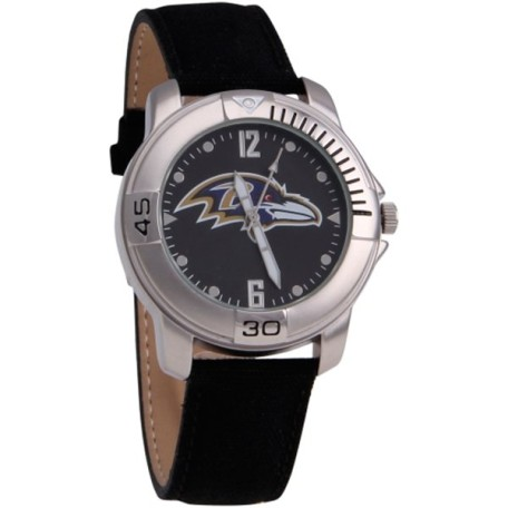 Baltimore Ravens Fabric Strap Watch