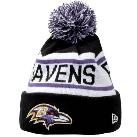 Baltimore Ravens New Era Biggest Fan Redux Knit Beanie