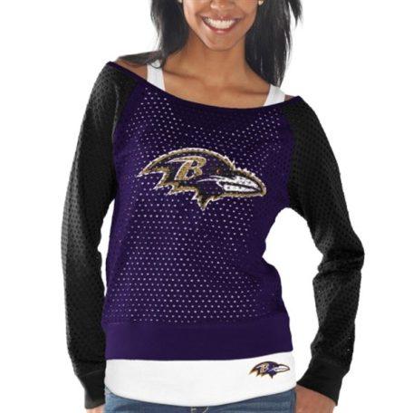 Baltimore Ravens Womens Holy Long Sleeve TShirt Tank Top