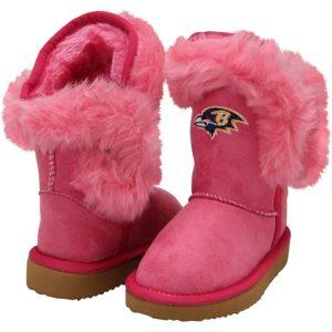 Cuce Baltimore Ravens Toddler Girls MiniMe Fanatic Boot