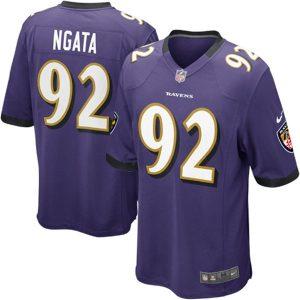 Haloti Ngata Baltimore Ravens Nike Youth Team Color Game Jersey