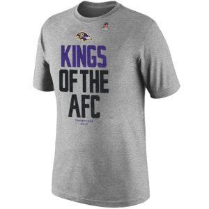 Nike Baltimore Ravens 2012 AFC Champions TShirt