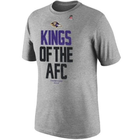 Nike Baltimore Ravens 2012 AFC Champions Kings of the AFC TShirt