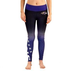 Baltimore Ravens Women's Gradient Leggings